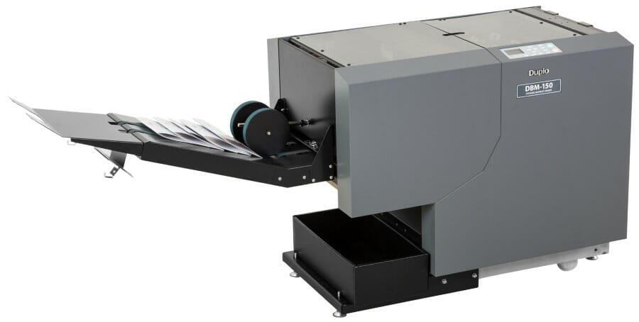 Duplo DBM-150 cucipiega automatico con refilo