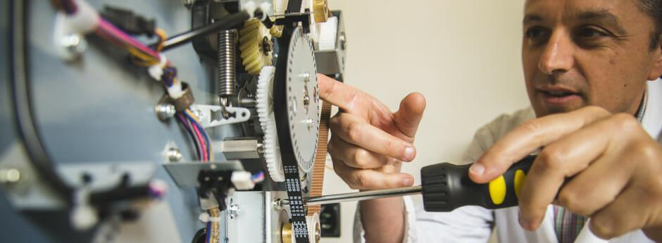 Assistenza tecnica certificata su tutte le macchine