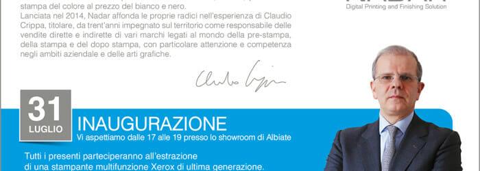 Inaugurazione Nadar Srl Albiate di Claudio Crippa