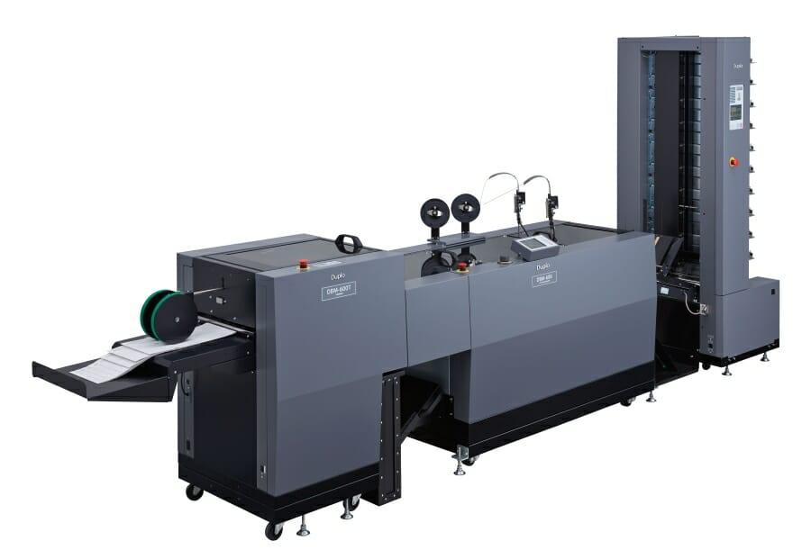 Duplo DBM-600 Cucipiega e Trimmer
