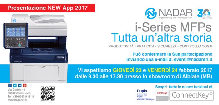 Presentazione Pacchetto Produttività Xerox Nadar Srl