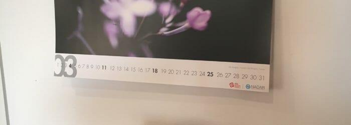 Pasqua 2018 da Nadar: foto calendario Marzo