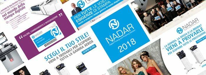 Poster riassuntivo attività 2018 Nadar Srl Albiate